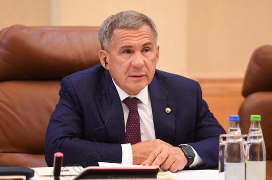 Рустам Минниханов обратится с посланием к Госсовету Татарстана