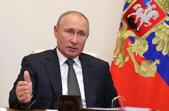 Путин: регионы должны разработать программы для защиты пожилых граждан в период пандемии