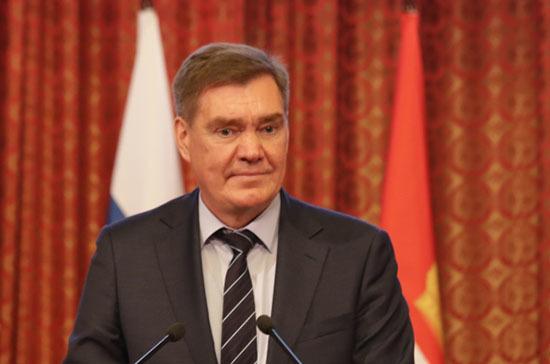 Александр Савин будет представлять Калужскую область в Совфеде
