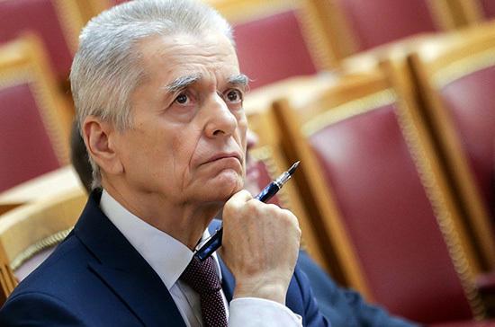 Онищенко прокомментировал предложение Путина по вакцине от коронавируса для ООН