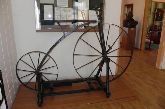 Первый в мире велосипед сделали в Нижнем Тагиле