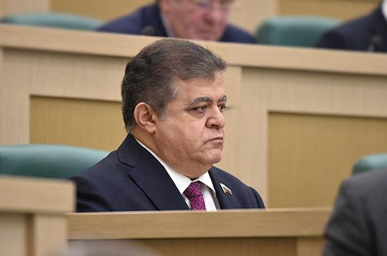 Джабаров: ни один из конфликтов на должен решаться на поле боя