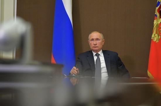Путин предложил ввести мониторинг реализации национальных проектов