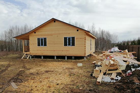 В Госдуме предлагают выделять многодетным семьям по 450 тысяч на строительство домов