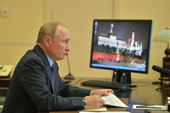 В Кремле рассказали о подробностях разговора Путина и нового премьер-министра Японии