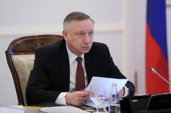 Губернатор Санкт-Петербурга наградил многодетные семьи за заслуги в воспитании детей