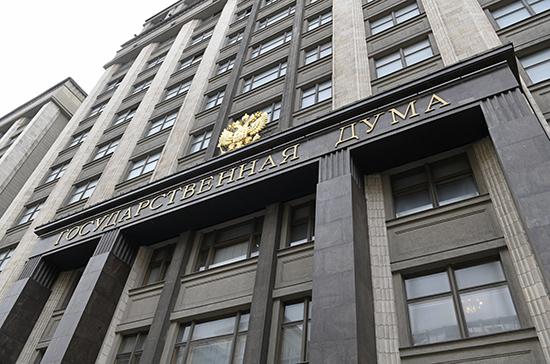 В октябре в Госдуме пройдут два «правительственных часа»