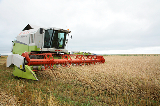 Россия увеличила экспорт агропродукции на 12%