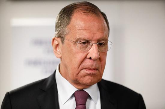 Германия взяла курс на сдерживание России, заявил Лавров