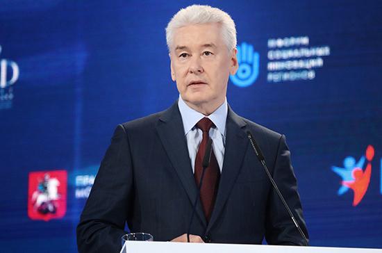 Собянин рассказал о введении жёстких ограничений в Москве
