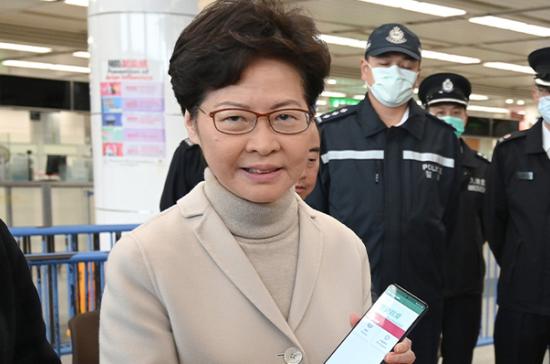 Глава Гонконга заверила, что не боится западных санкций