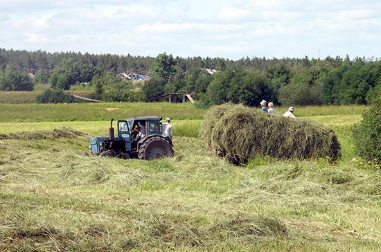 Комитет Совфеда рекомендовал к принятию закон о поддержке сельхозпроизводителей