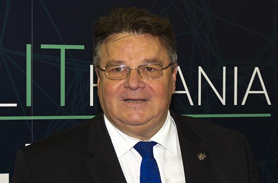 Глава МИД Литвы объяснил причину отзыва посла в Белоруссии для консультаций
