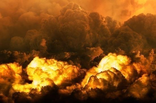 На военном складе в Рязанской области взорвались боеприпасы