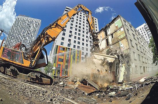 Правительство готовит отзыв на законопроект о реновации в регионах