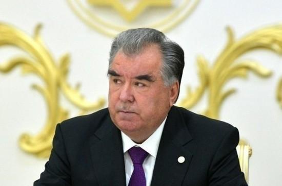 ЦИК утвердил Рахмона президентом Таджикистана