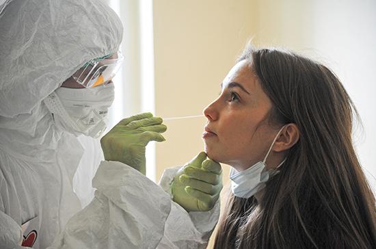 В России за сутки 13 754 человека заразились коронавирусом