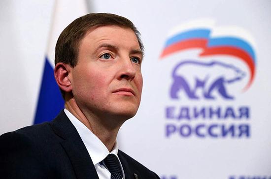 Президент наградил Турчака орденом Александра Невского