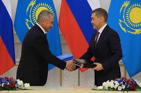 Россия и Казахстан подписали обновлённый договор о военном сотрудничестве