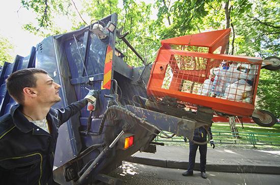 Кобылкин: операторы по вывозу мусора принесут в бюджет 34 млрд рублей в 2020 году