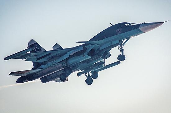 В Хабаровском крае разбился истребитель Су-34