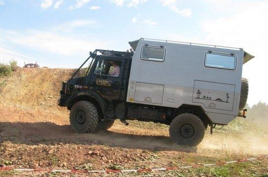 Армия Литвы получила партию германских грузовиков Unimog