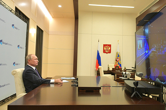 Путин заявил, что нужно скорректировать поддержку некоторых отраслей
