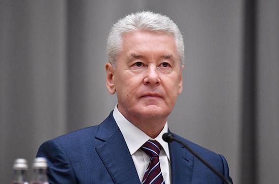 Собянин заявил, что распространение коронавируса в Москве замедляется