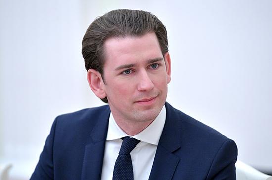 Курц не исключил повторную изоляцию в Австрии