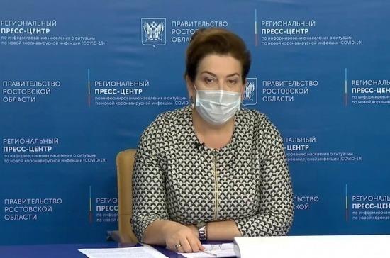 Главу Минздрава Ростовской области освободили от занимаемой должности