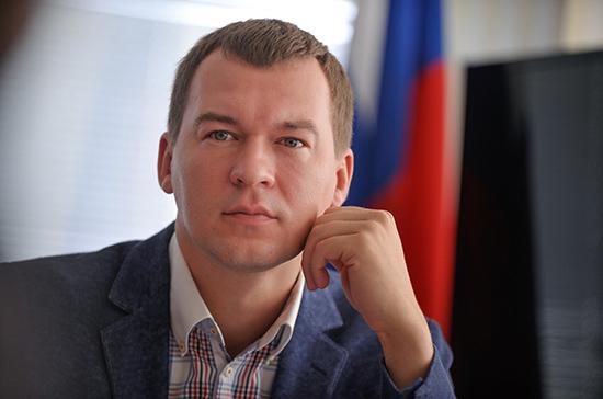 Дегтярев заявил о создании команды для управления Хабаровским краем