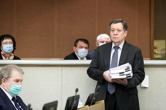 Макаров: соцобязательства будут обеспечиваться не доходами бюджета, а всей бюджетной конструкцией