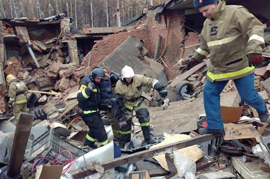 Следственный комитет назвал причину взрыва в гаражах в Мытищах