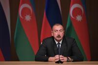 Президент Азербайджана заявил о готовности остановить войну в Карабахе