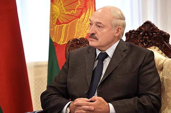 Евросоюз ввел санкции против Александра Лукашенко