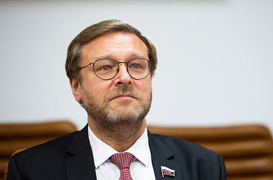 Косачев увидел в избрании Байдена позитивный момент для России
