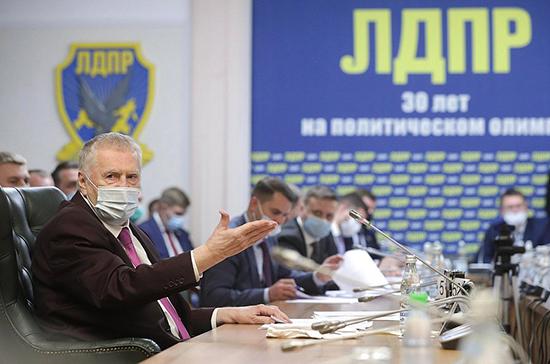 ЛДПР поддержит четыре кандидатуры на должности членов кабмина