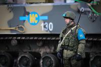 Российские миротворцы вылетели в Нагорный Карабах