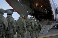 Российские миротворцы  вошли в Нагорный Карабах