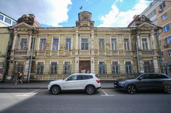 Исторические здания предлагают продавать на аукционах