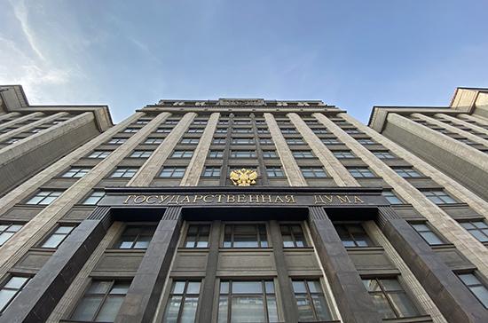 Госдума в первом чтении приняла законопроект о Госсовете