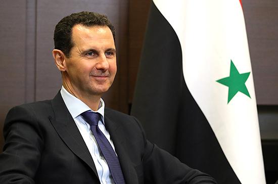 Асад поблагодарил Россию за помощь в сохранении Сирии