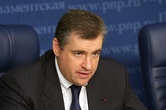 Слуцкий назвал санкции против Франции и Германии адекватной ответной мерой