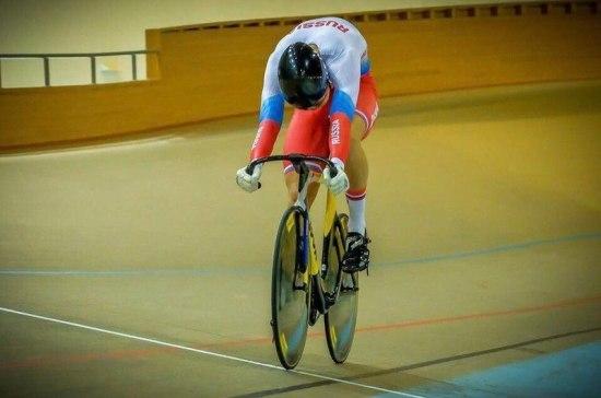 Мужская сборная России завоевала золото на чемпионате Европы по велотреку