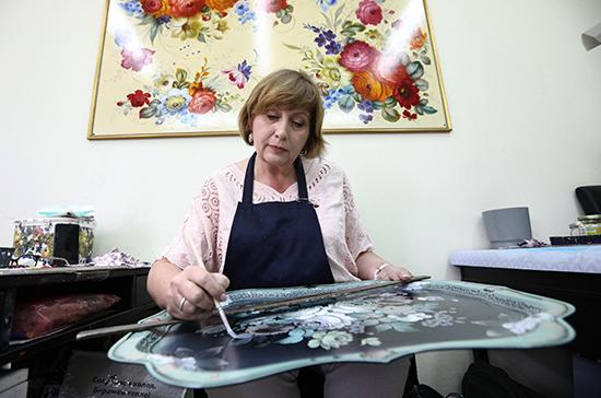 Предприятиям народных художественных промыслов упростили доступ к господдержке