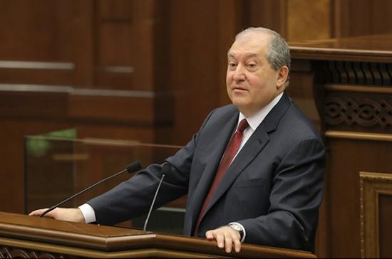Президент Армении заявил о неизбежности досрочных выборов в парламент
