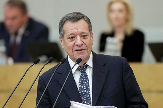 Макаров: закон о сроке предоставления бюджетных кредитов нужно принять до конца ноября