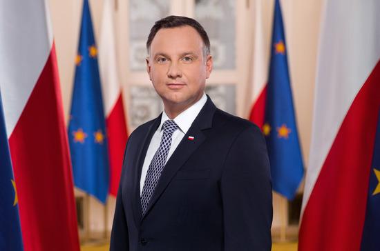 Акции протеста прошли в Вильнюсе по случаю визита президента Польши