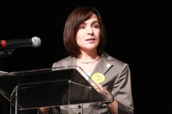 Санду намерена установить позитивные отношения между Россией и Молдавией