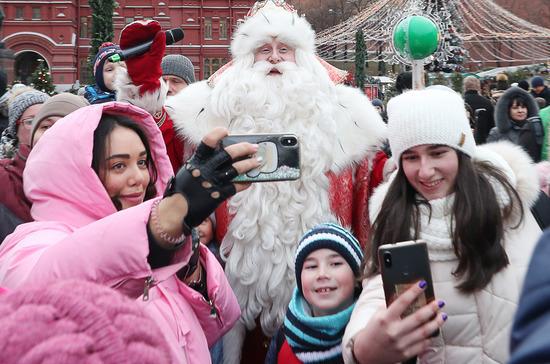 Дед Мороз оказался в группе риска и останется на изоляции